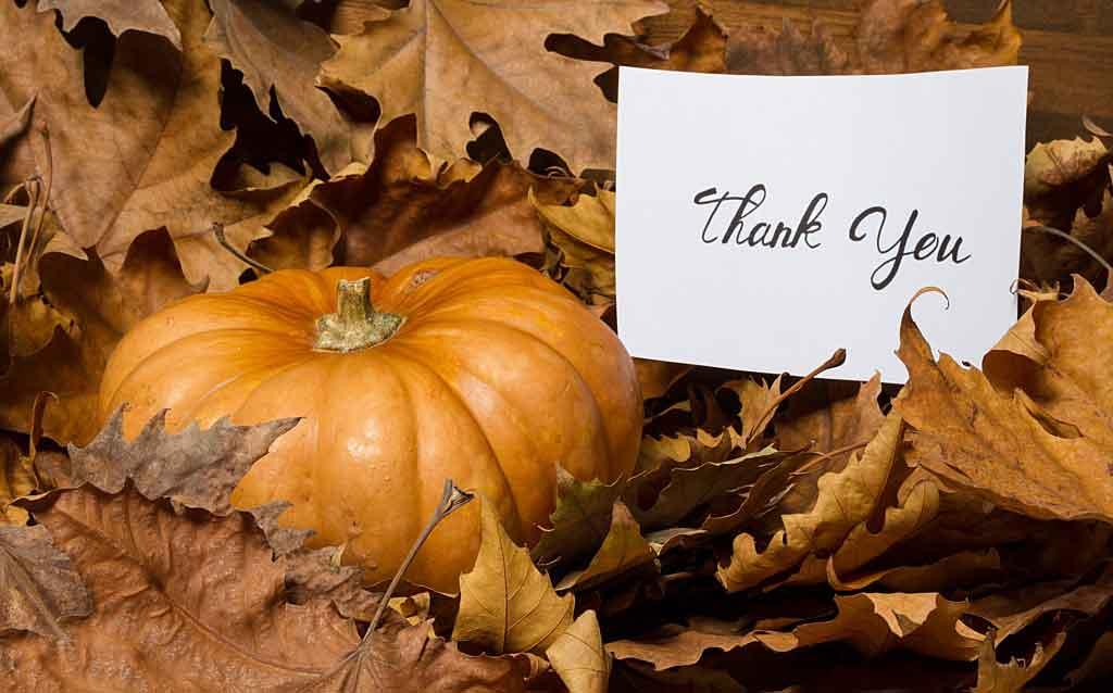 Palabras de agradecimiento