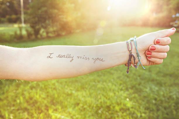 Palabras de tatuaje