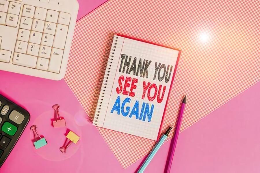 Palabras de despedida y agradecimiento