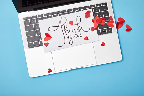 Palabras de agradecimiento a una persona