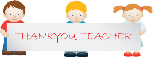 Palabras de agradecimiento a la maestra