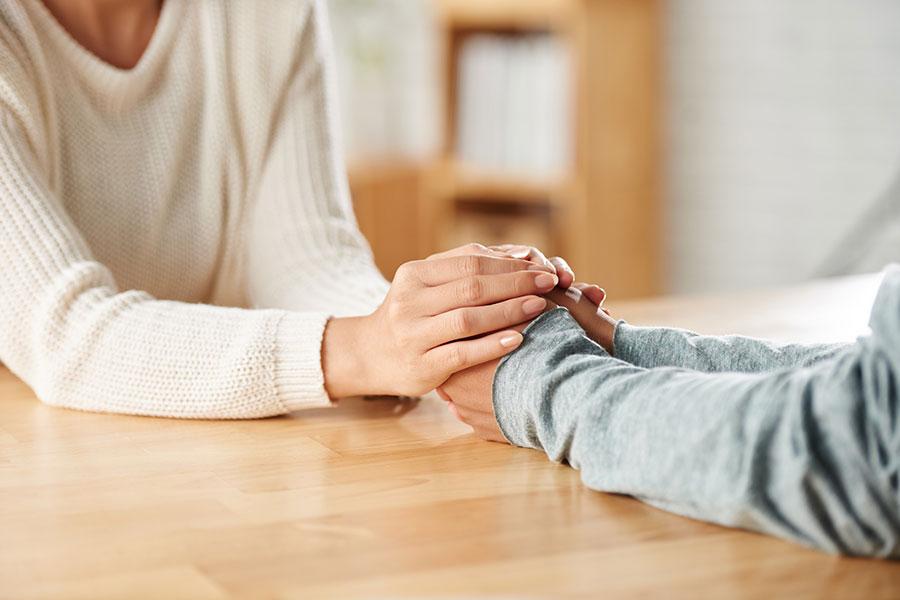 Palabras de consuelo por una madre