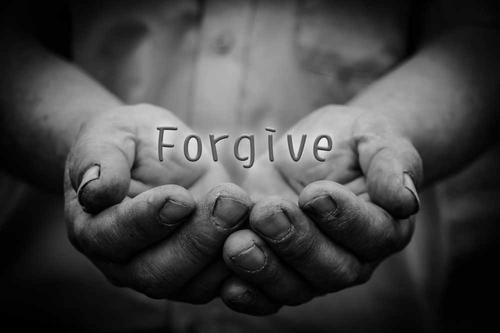 Palabras de perdón y arrepentimiento
