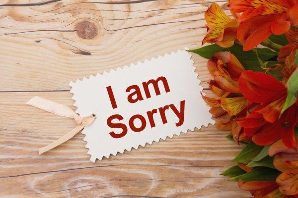 Palabras de perdón para mi esposa