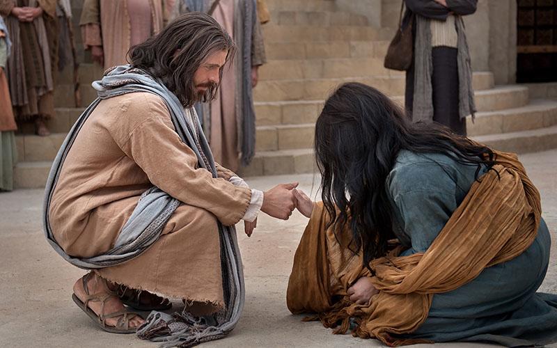 Palabras de sanación de Jesús
