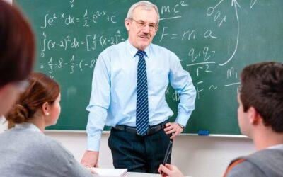Palabras de reconocimiento a un profesor